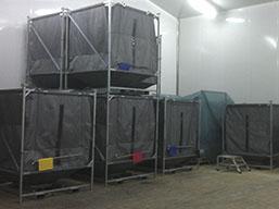 Danone-containerlagersystem